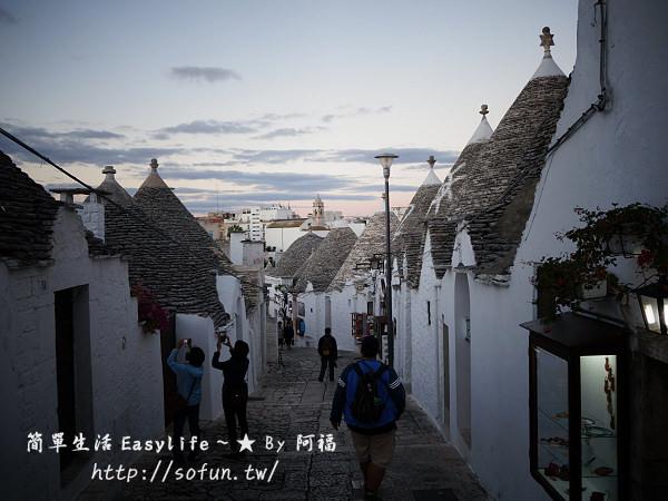 [遊記] 義大利。阿貝羅貝羅@童話故事般夢幻蘑菇村 (Alberobello)