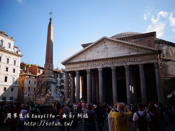 [羅馬遊記] 萬神殿 Pantheon & 超人氣必買金杯咖啡 Tazza D'Oro