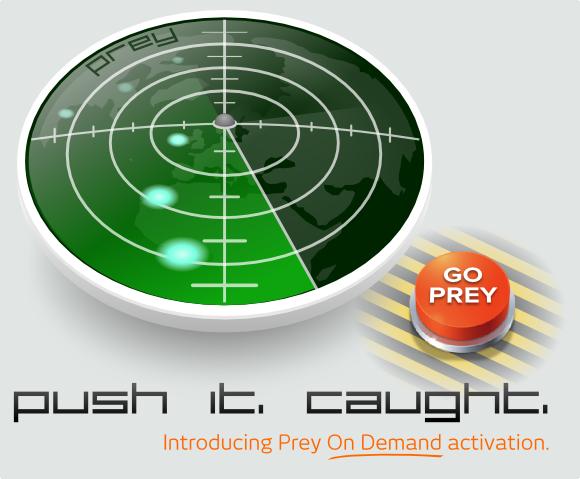[獵物防盜] Prey – 筆電與行動裝置安全防盜追蹤軟體/App