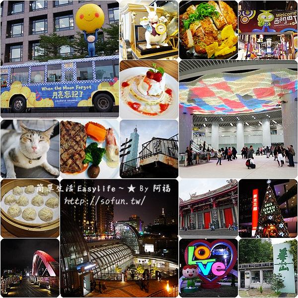 [觀光懶人包] 臺北捷運一日遊&精選行程 (沿線景點、美食小吃)