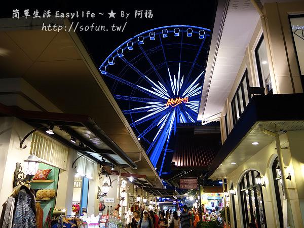 [泰國旅遊] 曼谷河岸碼頭夜市 Asiatique The Riverfront@好逛有氣氛