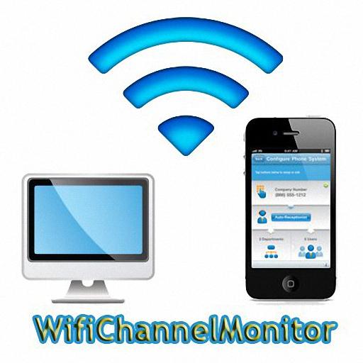 WifiChannelMonitor – 掃描/偷看周邊無線網路基地台連線資訊@免安裝版