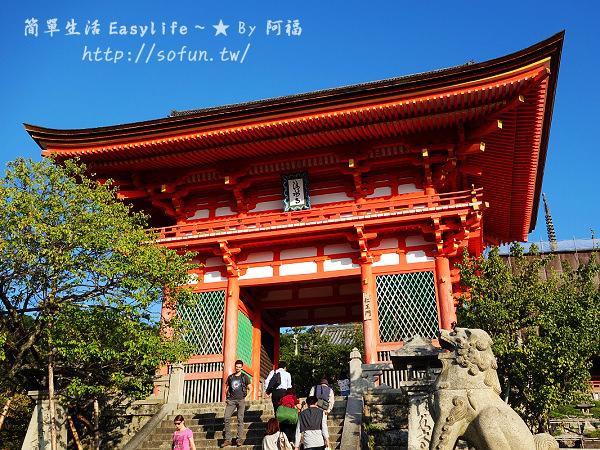 [京都寺廟] 音羽山清水寺@木造雄偉必訪世界遺產,來去慢遊古都