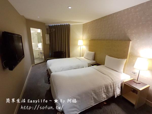 [高雄前金住宿/飯店] 麗馨商旅 (七賢館) ~ 房間寬敞、設計風格旅店