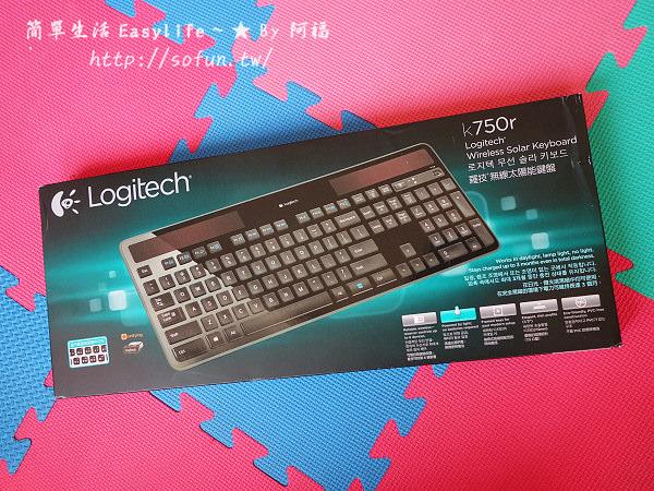 [開箱] 羅技無線太陽能鍵盤 K750r @剪刀腳設計&環保免換電池