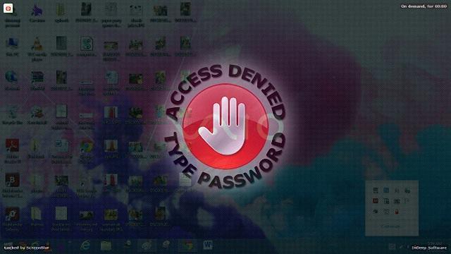 ScreenBlur – 取代微軟系統內建鎖定功能電腦螢幕鎖@免安裝中文版