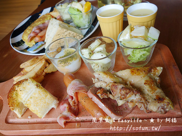 [陽明山早午餐/下午茶餐廳] 1942餓棧廚房@餐點豐盛、選擇多樣