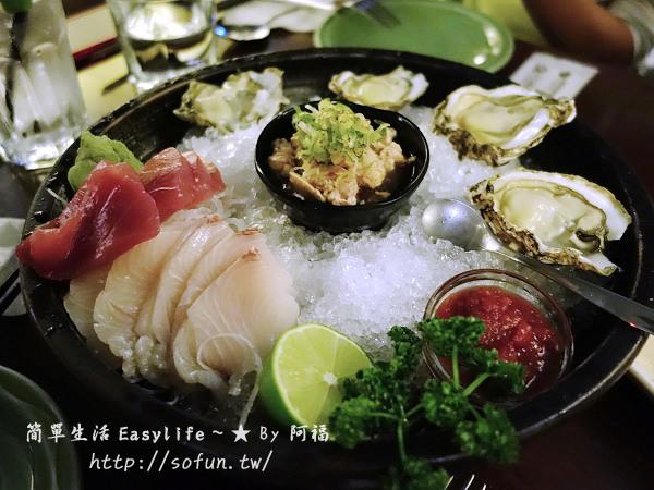 [美食] 台北市呷海鮮 YAYA'S 生蠔酒館@詹姆士餐廳,新鮮又好吃