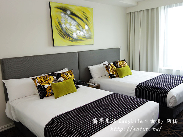 [黃金海岸住宿/飯店推薦] Watermark Hotel ~ 位市中心、房間大/價格便宜