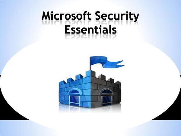 [安全] Microsoft Security Essentials 微軟牌免費防毒軟體下載、教學