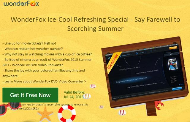 [限免活動] WonderFox DVD Video Converter 多功能影音轉檔免費下載