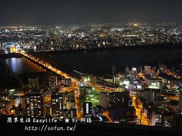 [大阪旅遊] 梅田空中庭園展望台、HEP FIVE 摩天輪@推薦看夜景景點