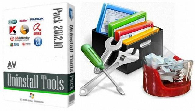 AV Uninstall Tools Pack – 有效完整移除防毒、安全防護軟體工具包