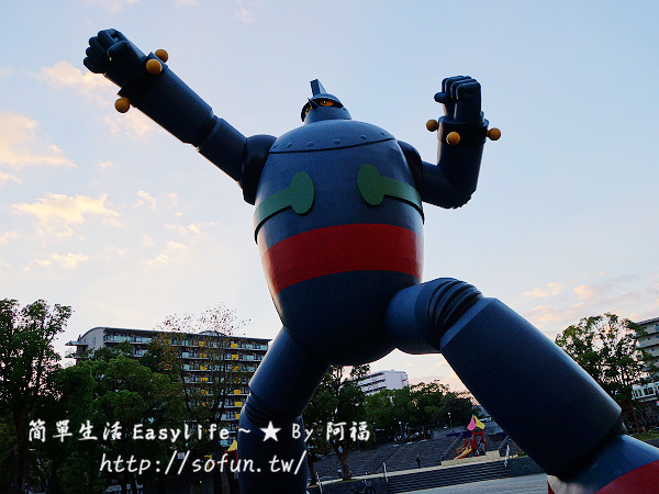 [神戶景點] 鐵人28號 – 巨大等比例機器人 & 三國志街道遊