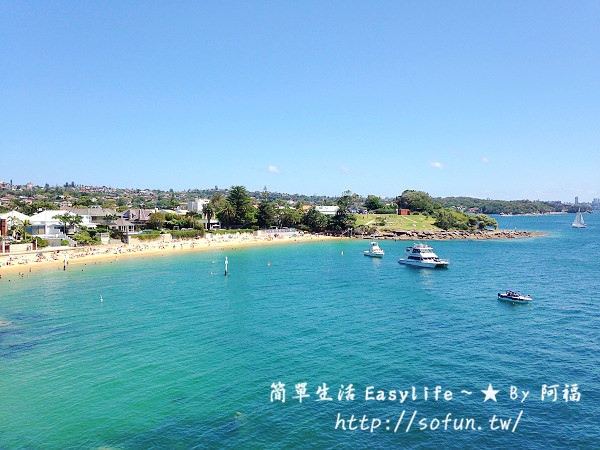 [雪梨探險] Manly Beach / Watsons Bay / 誤闖 Lady Bay Beach 天體營
