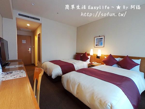 [東京旅館] 第一飯店兩國 Dai-ichi Hotel Ryogoku 住宿環境@房間遠眺晴空塔景色