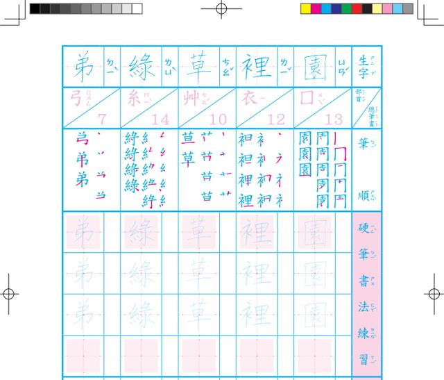 國小一至六年級 105 學年上/下學期南一、康軒及翰林版生字語詞簿