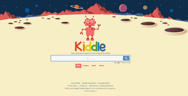 Kiddle.co 專為孩童設計搜尋引擎@自動過濾不良/色情資訊