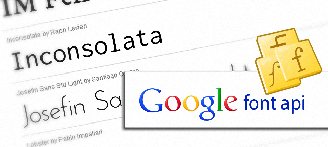 Google Fonts 精選多達近千款樣式字型免費下載使用
