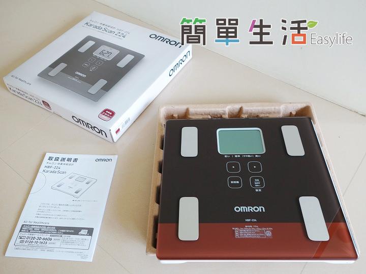 [日本購物推薦] 歐姆龍 OMRON HBF-224 體脂計開箱文@測量數據多 C/P 值高