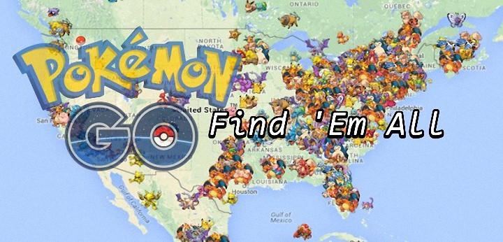 [攻略] Pokemon GO 寶可夢地圖雷達圖鑑 Poke Radar@提示神奇寶貝出現位置、哪裡捕捉