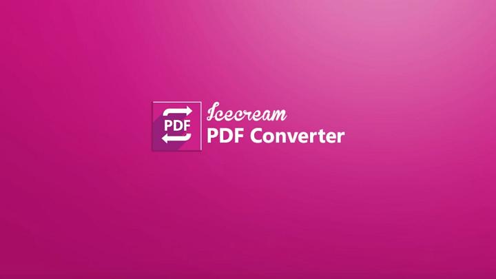 Icecream PDF Converter – 免費又多功能 PDF 格式轉換工具