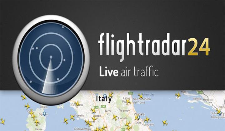 [推薦] Flightradar24 – 地圖即時顯示飛機動態/查詢航班路線資訊