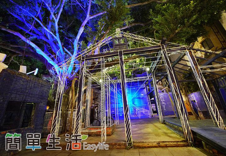 [台南旅遊景點推薦] 藍晒圖文創園區@夜晚燈光美,美食餐廳選擇多