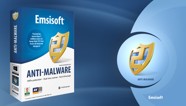 Emsisoft Anti-Malware 防止惡意程式入侵/首頁綁架/勒索病毒 WanaCrypt0r 2.0 & WannaCry@中文版