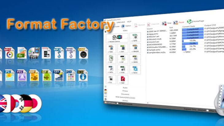 格式工廠 Format Factory 免費影片音樂轉檔軟體下載@免安裝中文版