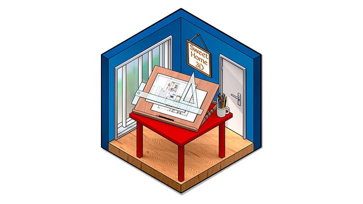 SweetHome3D – 免費好用室內設計/裝潢軟體@免安裝中文版 (附教學影片)