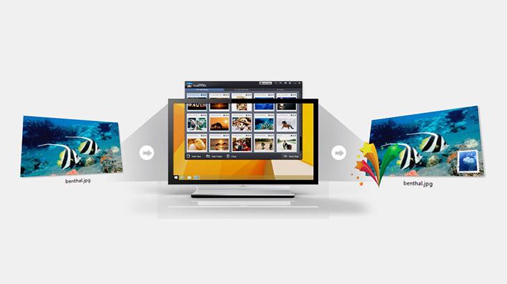 Photo Watermark Software 相簿圖片批次添加浮水印專用軟體