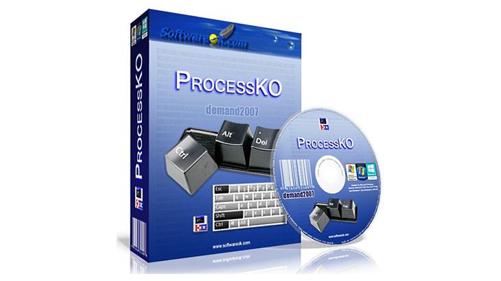 ProcessKO 一鍵手動/自訂時間強制關閉執行中程式處理程序軟體@免安裝中文版