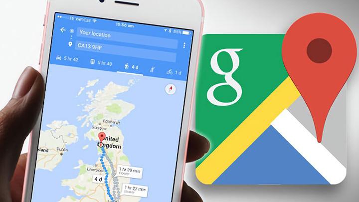 [教學] 免外掛/安裝 App 將規劃好 Google Map 路線圖傳送到手機用谷歌地圖開啟
