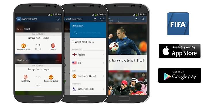 [世足必裝App] FIFA 國際足球總會@世足賽官方手機 App 下載
