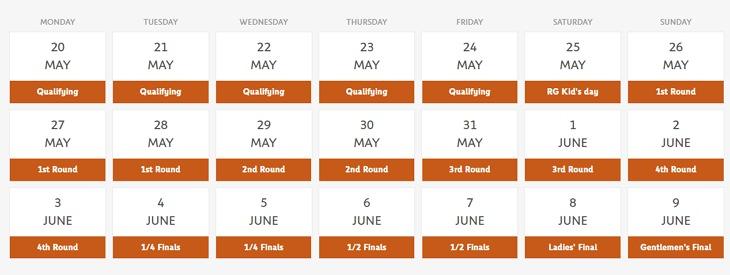 法網直播 | 2019 法國網球公開賽 French Open 網路轉播線上看、賽程時間