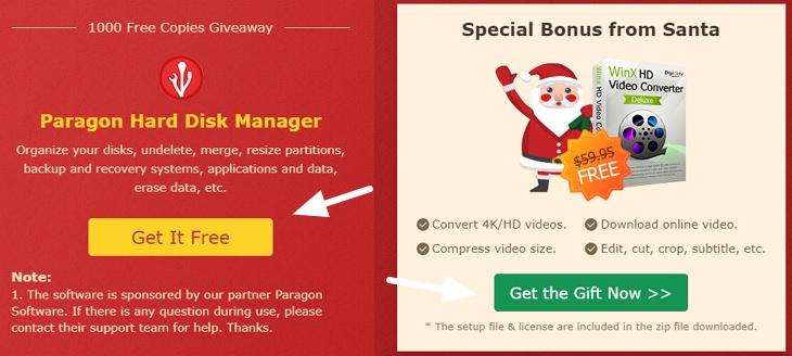 Digiarty 聖誕節活動 x WinX DVD 超過 20 款軟體價值近千美元限時免費下載