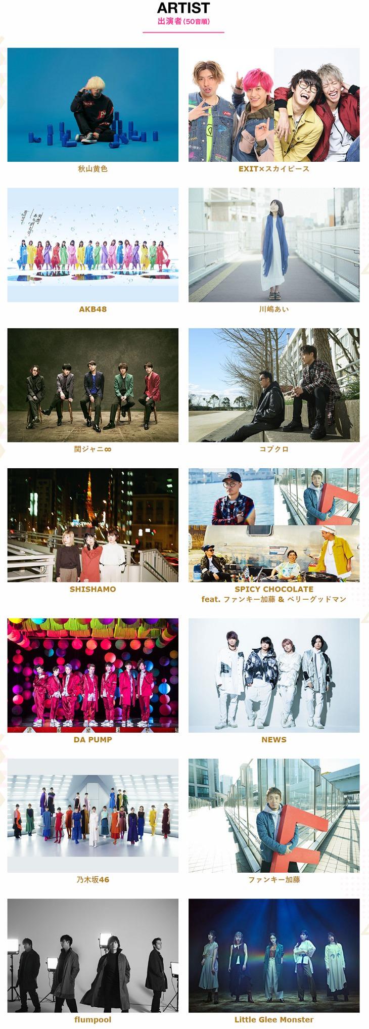 2020 CDTV 卒業ソング音楽祭網路直播線上看 Live & 歷年重播