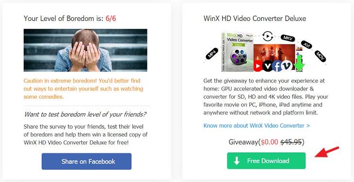 Digiarty 防疫期間送 WinX HD Video Converter Deluxe + 拍片抽 YouTube Premium 帳戶