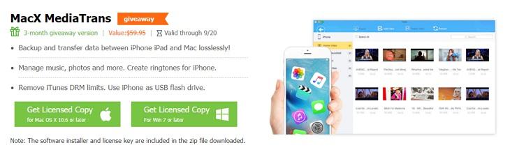 Digiarty x MacXDVD 推出 MacOSX 蘋果系統價值 5 美元 5 款軟體下載限時免費活動